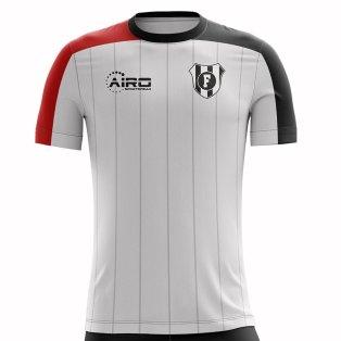 2020-2021 Fulham Home Concept Football Shirt