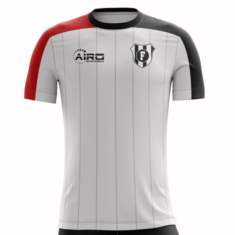2020-2021 Fulham Home Concept Football Shirt - Little Boys