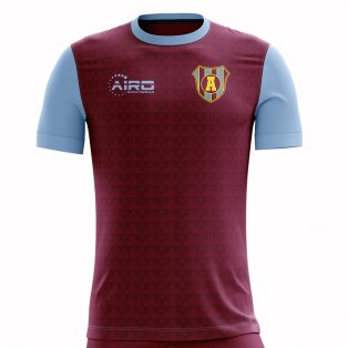 2020-2021 Villa Home Concept Football Shirt