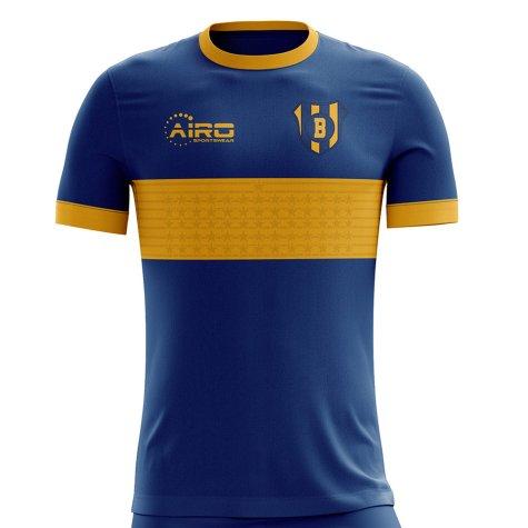 2020-2021 Boca Juniors Home Concept Football Shirt - Little Boys