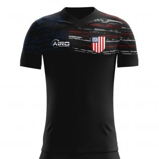 2b994a779 2019-2020 United States Away Concept Football Shirt