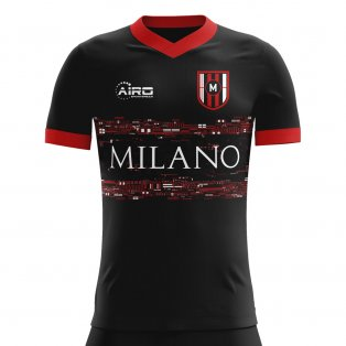 2020-2021 Milan Third Concept Football Shirt