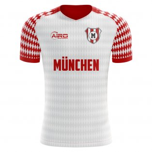 2020-2021 Munich Home Concept Football Shirt