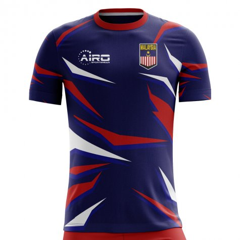 2019-2020 Malaysia Home Concept Football Shirt - Little Boys
