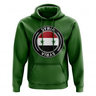 Syria Football Badge Hoodie (Green)