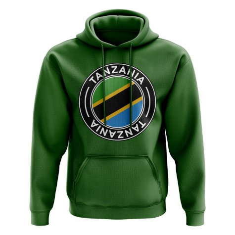Tanzania Football Badge Hoodie (Green)