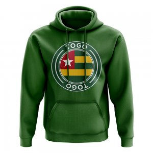 Togo Football Badge Hoodie (Green)