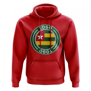 Togo Football Badge Hoodie (Red)