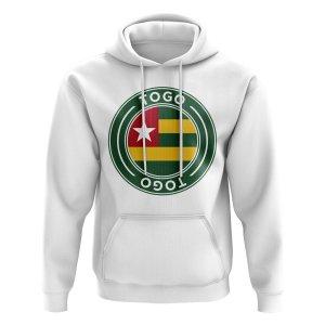 Togo Football Badge Hoodie (White)