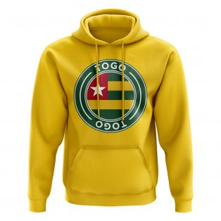 Togo Football Badge Hoodie (Yellow)