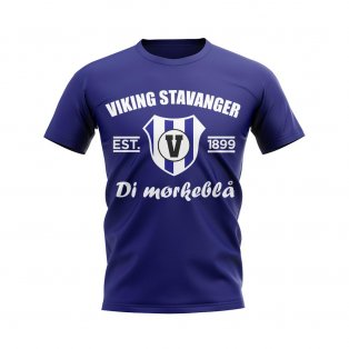 Viking Stavanger Established Football T-Shirt (Navy)