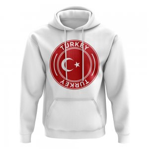 Turkey Football Badge Hoodie (White)