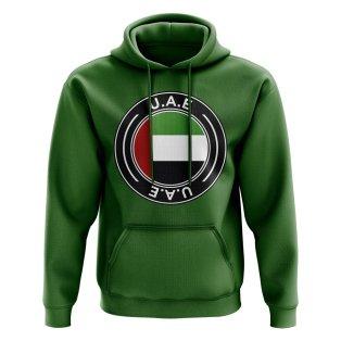 UAE Football Badge Hoodie (Green)