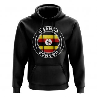 Uganda Football Badge Hoodie (Black)