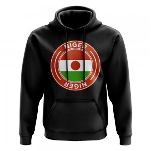 Niger Football Badge Hoodie (Black)