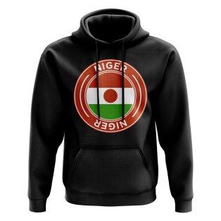 Niger Football Badge Hoodie (Black)