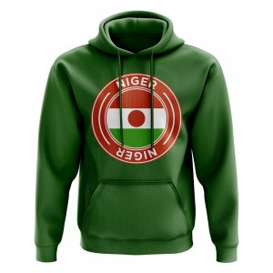 Niger Football Badge Hoodie (Green)