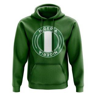 Nigeria Football Badge Hoodie (Green)