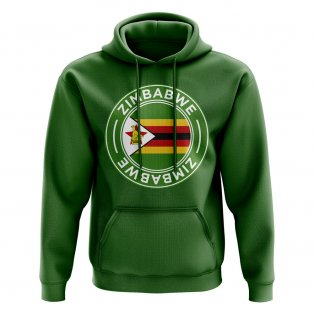 Zimbabwe Football Badge Hoodie (Green)