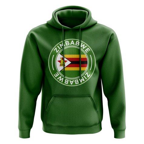 Zimbabwe Football Badge Hoodie (Green)