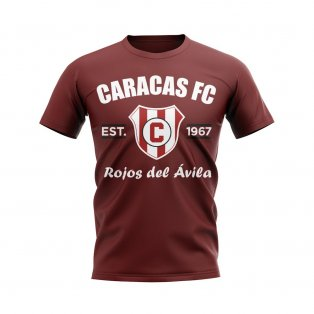 Caracas Established Football T-Shirt (Maroon)