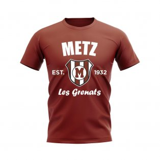 Metz Established Football T-Shirt (Maroon)