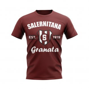 Salernitana Established Football T-Shirt (Maroon)