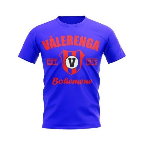 Valerenga Established Football T-Shirt (Royal)