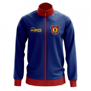 Barcelona Concept Football Track Jacket (Navy)