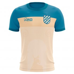 2020-2021 Montpellier Home Concept Football Shirt