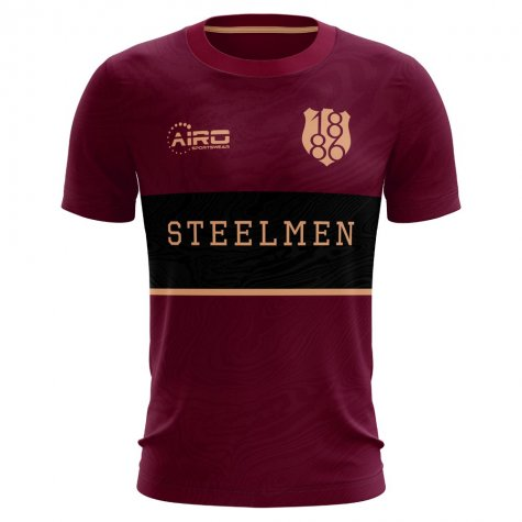 2020-2021 Motherwell Away Concept Football Shirt