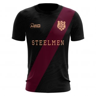 2020-2021 Motherwell Third Concept Football Shirt