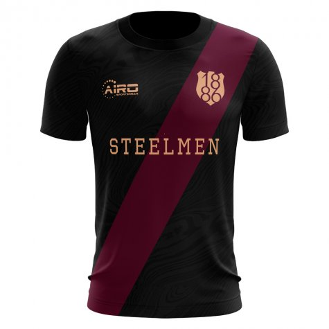2019-2020 Motherwell Third Concept Football Shirt