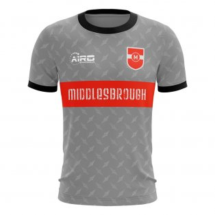 2020-2021 Middlesbrough Away Concept Football Shirt - Little Boys
