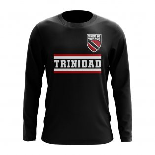 Trinidad and Tobago Core Football Country Long Sleeve T-Shirt (Black)