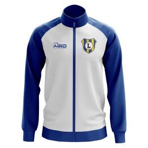 Leeds Concept Football Track Jacket (White)
