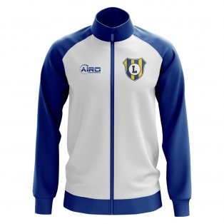 Leeds Concept Football Track Jacket (White)