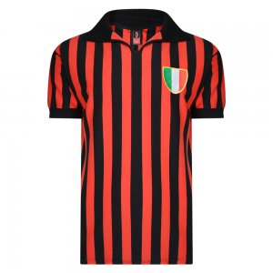 Score Draw AC Milan 1963 Retro Football Shirt