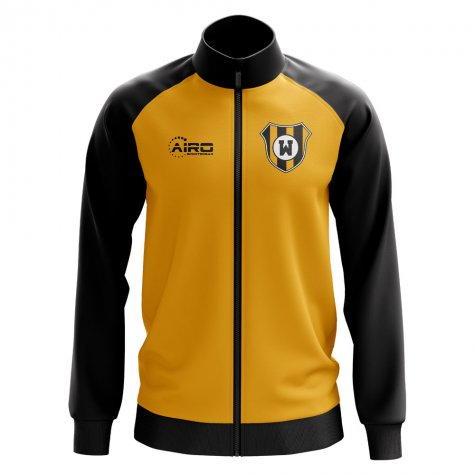 Wolverhampton Concept Football Track Jacket (Gold)