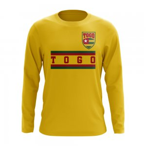 Togo Core Football Country Long Sleeve T-Shirt (Yellow)