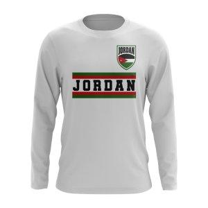 Jordan Core Football Country Long Sleeve T-Shirt (White)