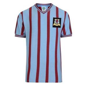 Score Draw Aston Villa 1957 FA Cup Final Retro Football Shirt