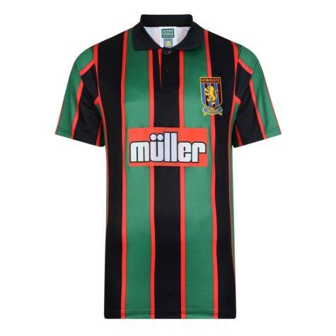 Score Draw Aston Villa 1994 Away Retro Football Shirt