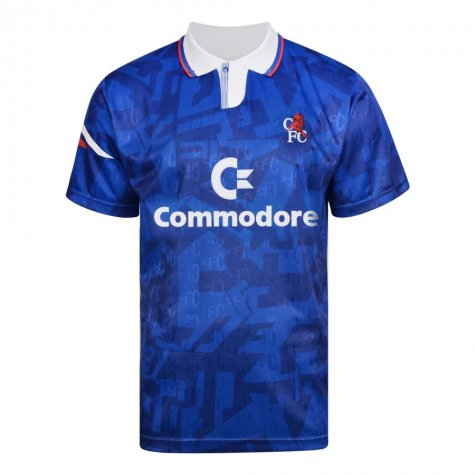 Score Draw Chelsea 1992 Retro Football Shirt
