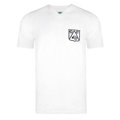 Score Draw Derby County 1958 Retro Football Shirt