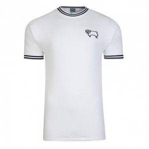 Score Draw Derby County 1972 Retro Football Shirt