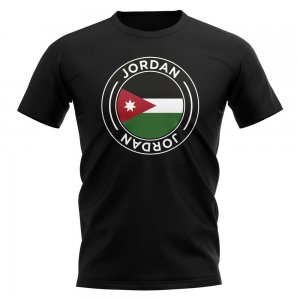 Jordan Football Badge T-Shirt (Black)
