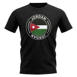 Jordan Football Badge T-Shirt (Black)