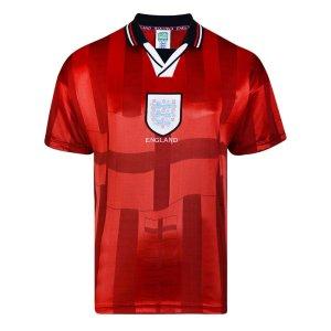 Score Draw England 1998 World Cup Finals Away Retro Football Shirt