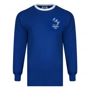 Score Draw Everton 1966 FA Cup Winners Retro Football Shirt